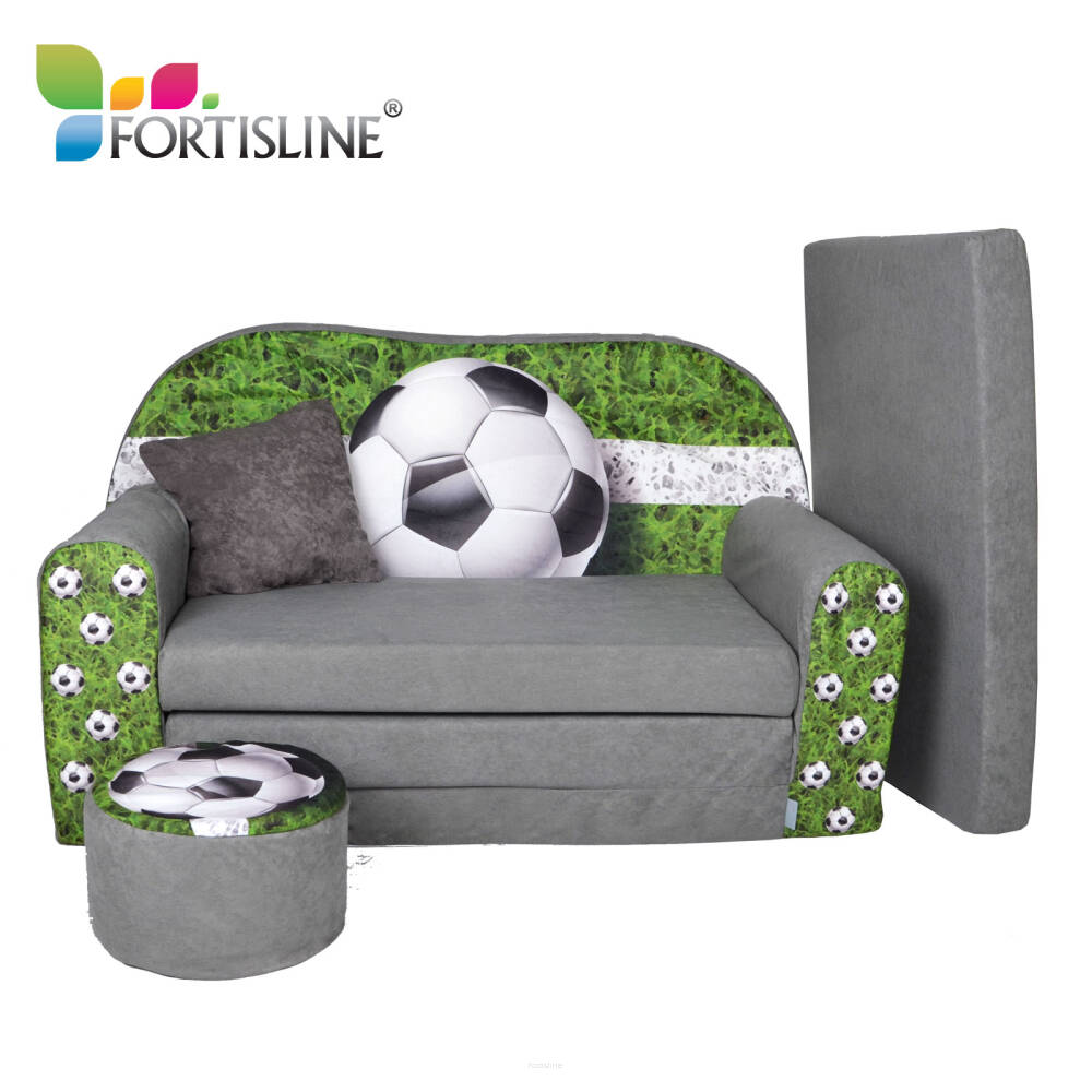 Sofa enfant convertibles football for Canape chambre enfant