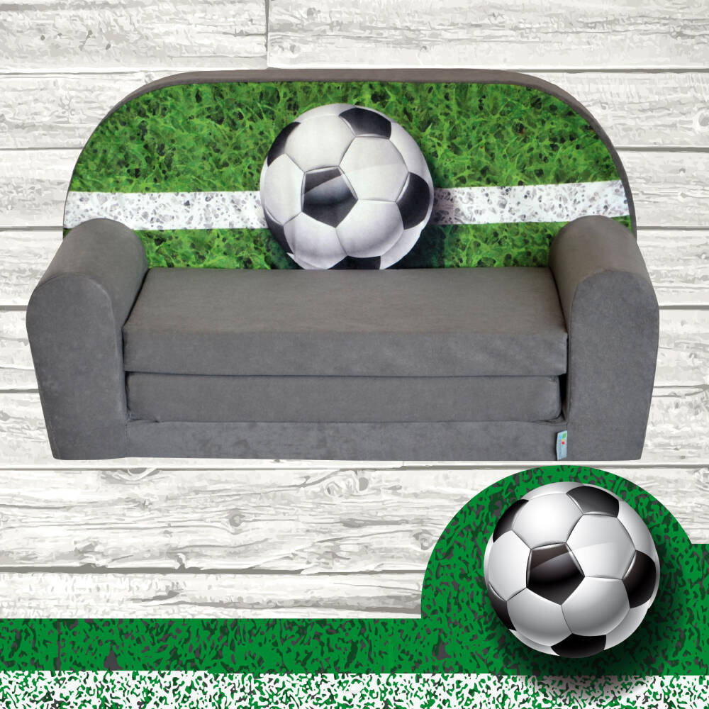 mini canap lit enfant foottball. Black Bedroom Furniture Sets. Home Design Ideas