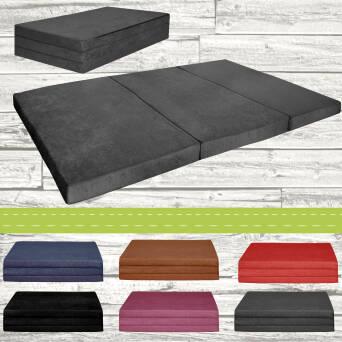 matelas d 39 appoint pliant 180x65x7 cm. Black Bedroom Furniture Sets. Home Design Ideas
