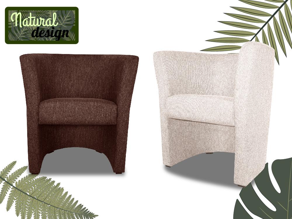 fauteuil cabriolet natural designfauteuils poufs matelas meubles enfants. Black Bedroom Furniture Sets. Home Design Ideas