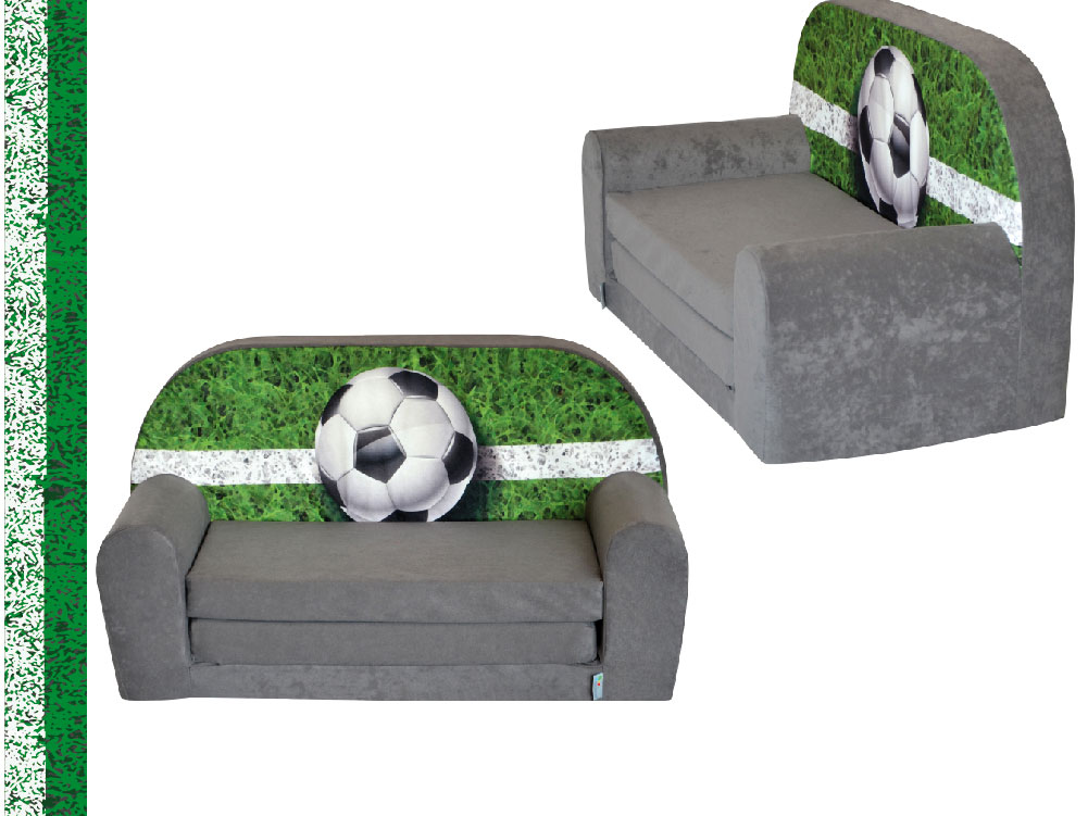 mini canap lit enfant foottballfauteuils poufs matelas. Black Bedroom Furniture Sets. Home Design Ideas