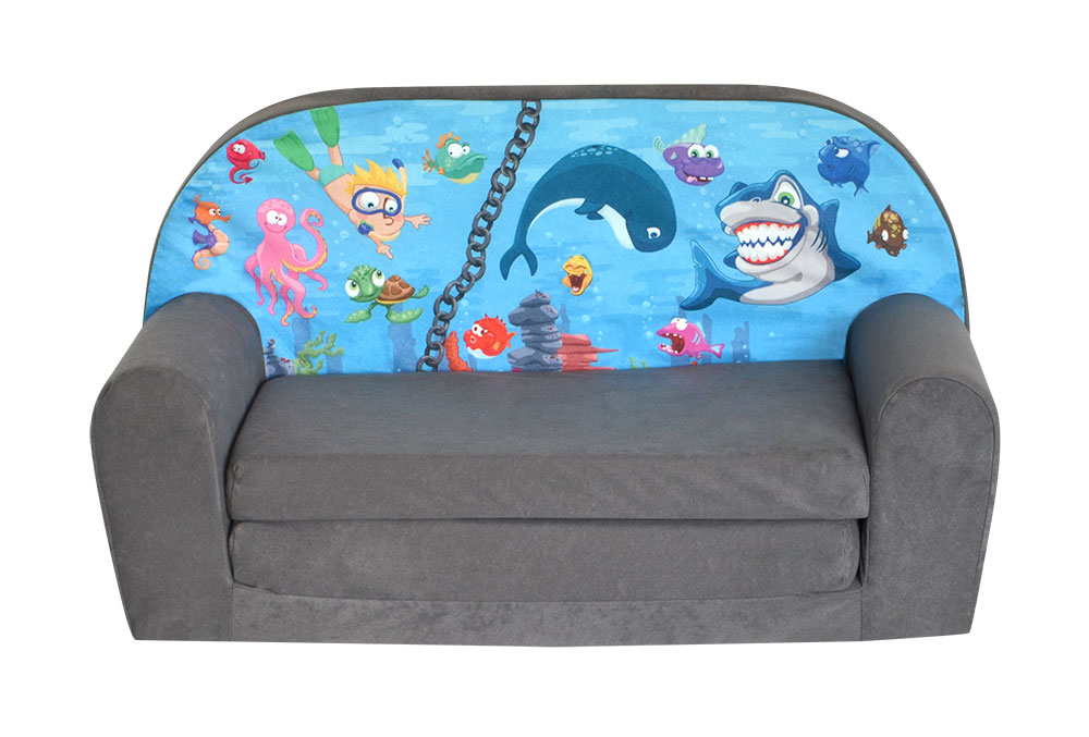 Minicanapé Lit Enfant Ocean II - Canape convertible enfant