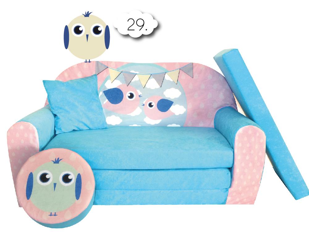 sofa enfant 2 places convertibles lit d 39 appoint pouf canap ebay. Black Bedroom Furniture Sets. Home Design Ideas
